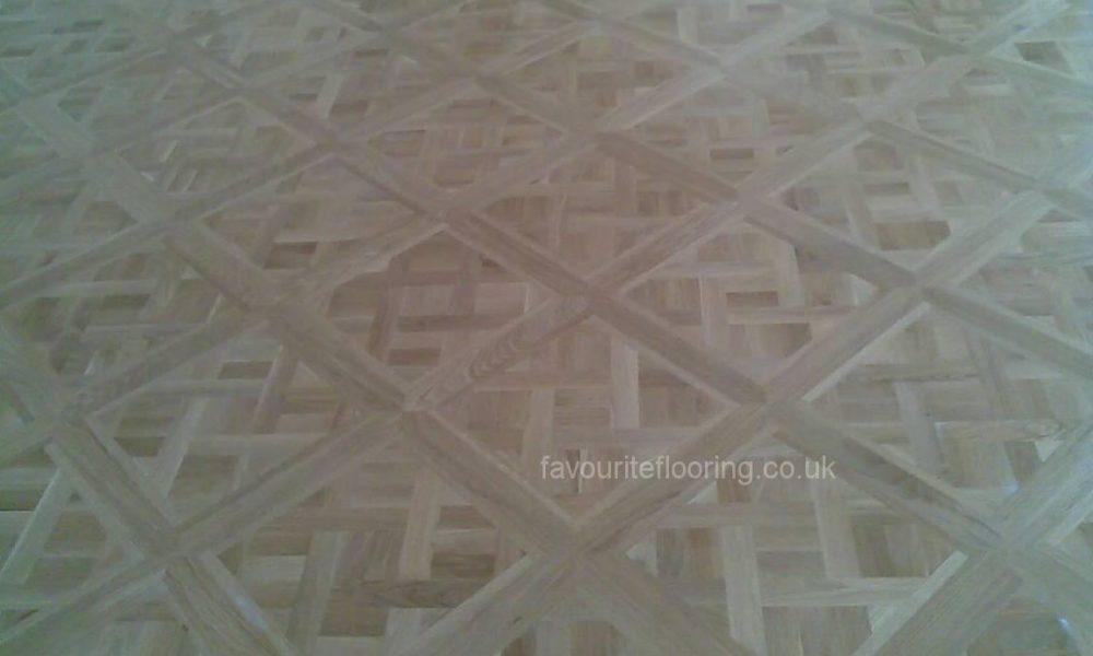 Oak Versailles blocks