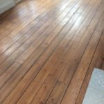 Pine Boards with stain