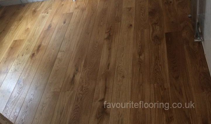 Finished Engineered Oak 160mm