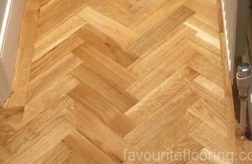 Oak Herringbone