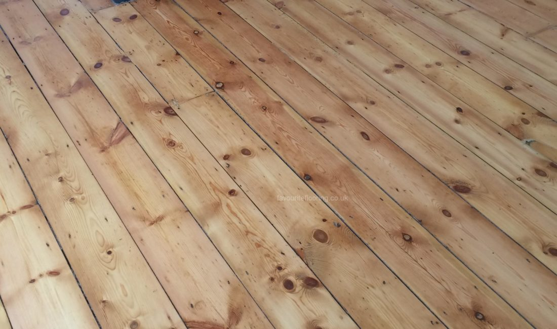 Pine Boards with varnish restoration