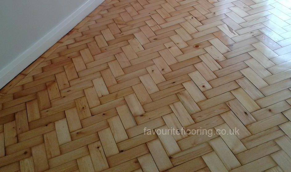 Pine Herringbone restoration