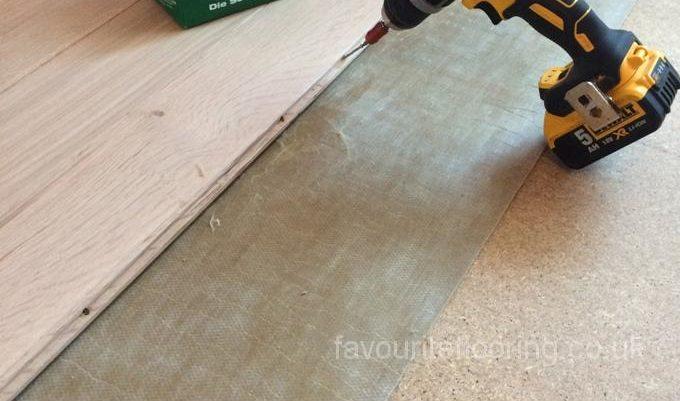 Rustic Oak 140 mm in progress
