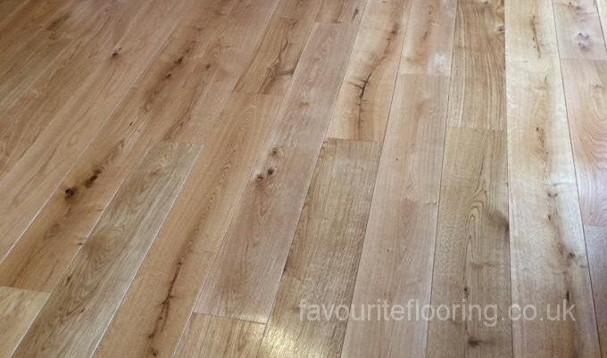 Rustic Oak 180mm finished
