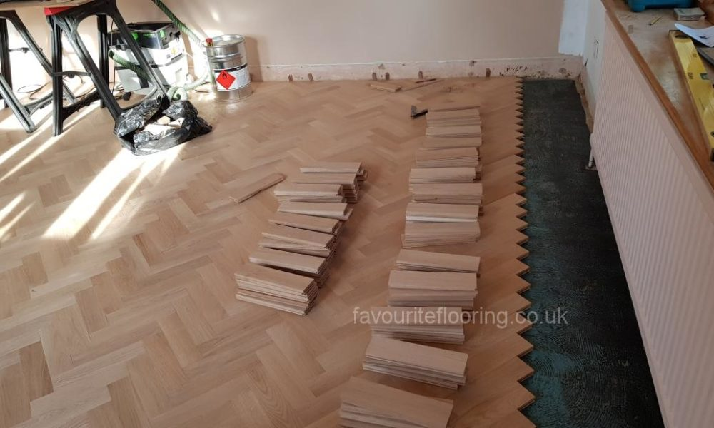 Wood floor fitters
