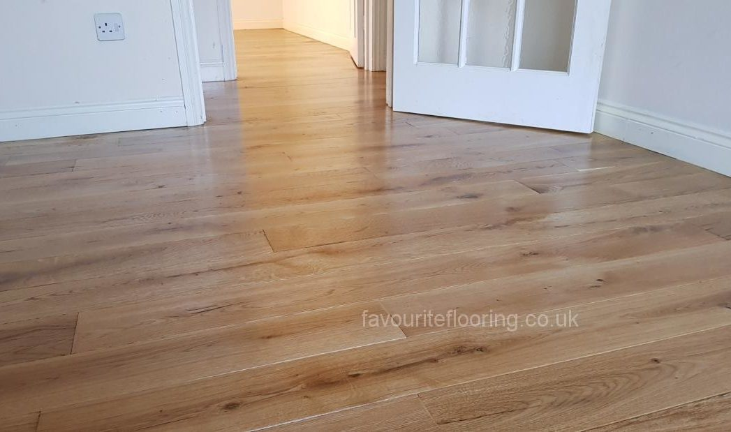 120mm Oak planks with bevel