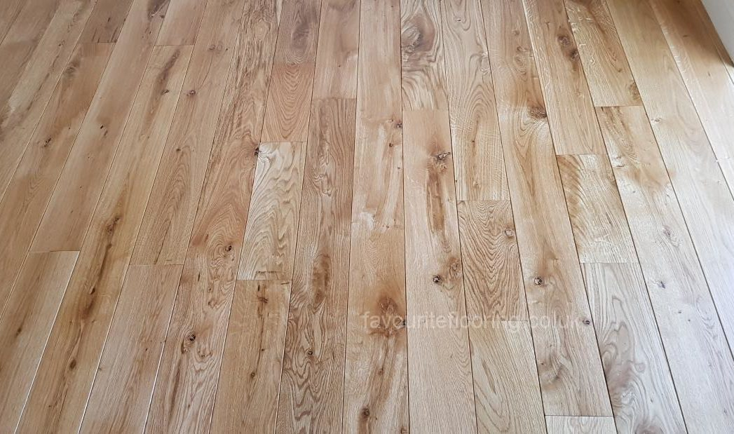 Nice Rustic Oak with bevel