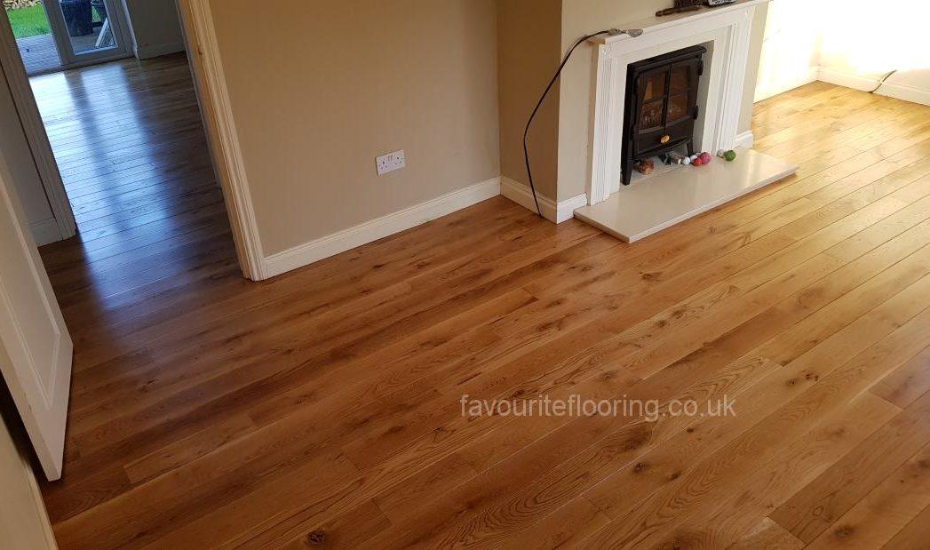 Oak planks 120 mm