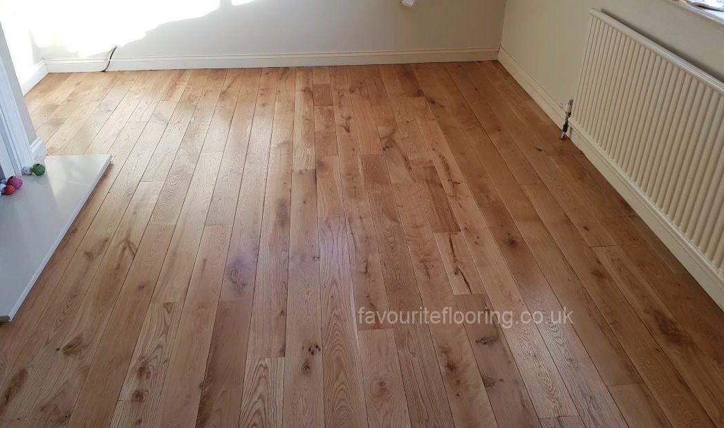 Rustic Oak planks