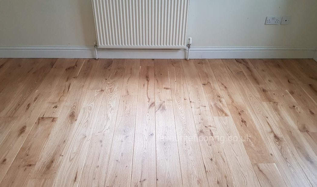 160mm Engineered Oak boards with Loba finished