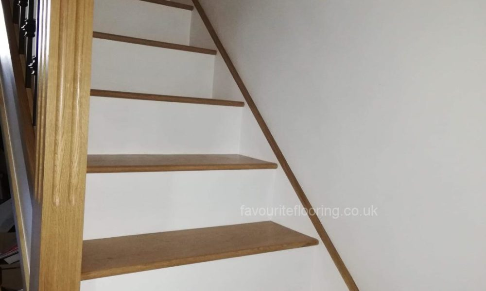 Steps after cladding and replace handrail