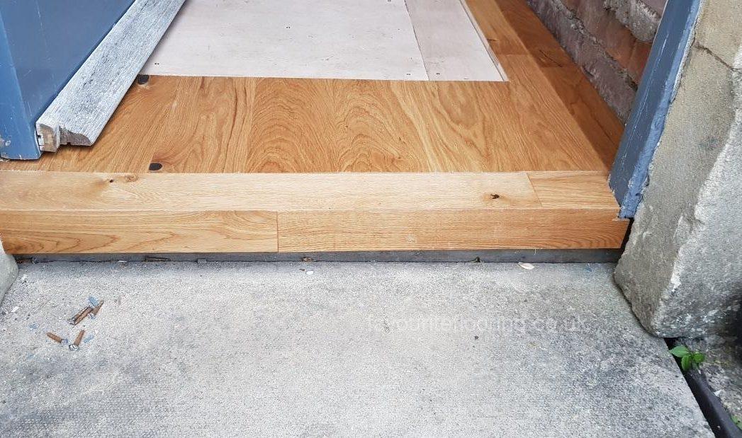 Engineered Oak threshold