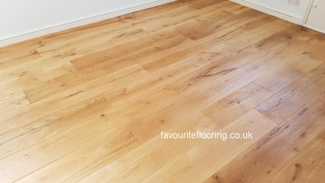 Engineered Oak boards with Oil matt finished