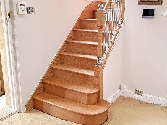Bespoke Wooden Stairs Home