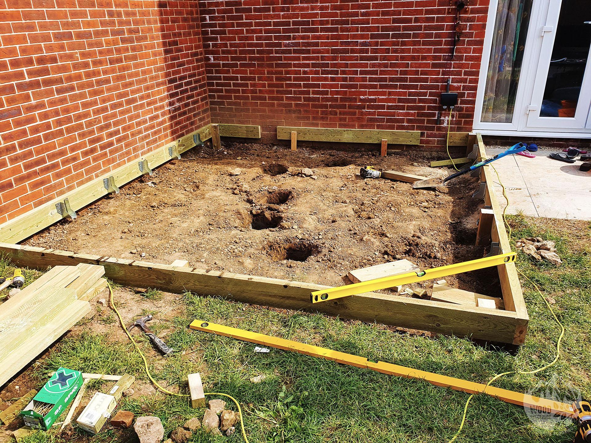 Garden Decking PR1-3